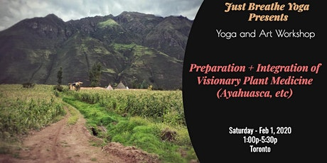 Preparation Workshop: Yoga, Ayahuasca, and Art tickets