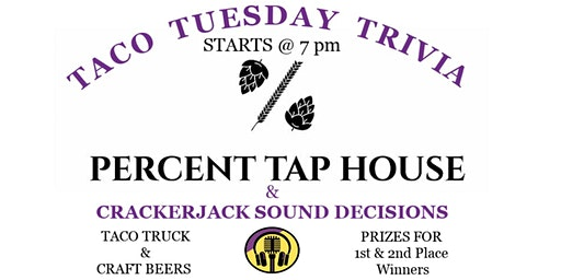 Taco Tuesday Trivia at Percent Tap House