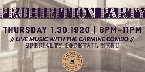 Prohibition Party!