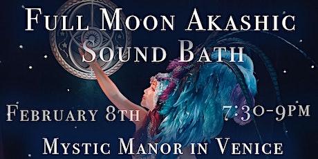Full Moon Akashic Sound Bath tickets
