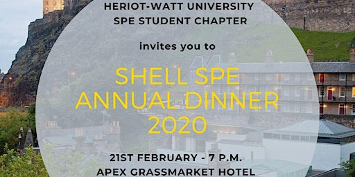 Shell SPE Annual Dinner 2020