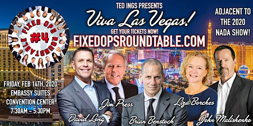 Ted Ings presents: Fixed Ops Roundtable 4 in Las Vegas, Nevada!