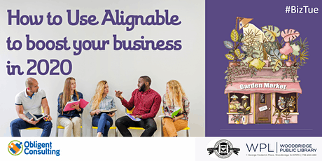 How to Use Alignable  to boost your business in 2020 tickets