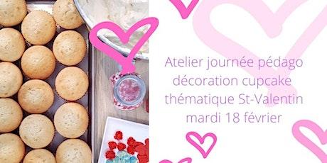 Atelier de décoration de cupcakes billets
