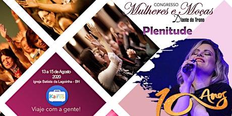 CONGRESSO MULHERES E MOÇAS DT - PLENITUDE ingressos