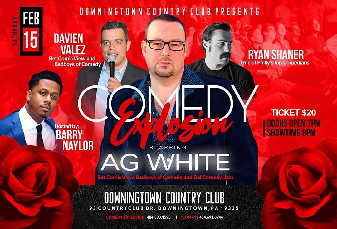 Comedy Explosion at Downingtown Country Club