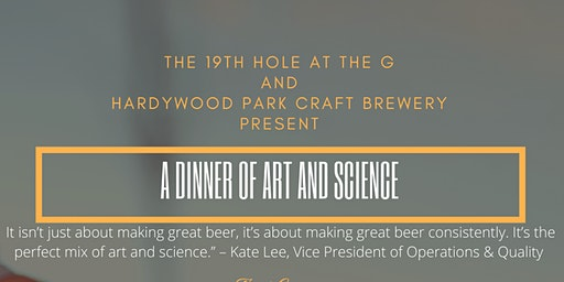 A Dinner of Art and Science: Hardywood Park Craft Brewery Beer Dinner