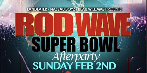 Rod Wave SuperBowl Sunday