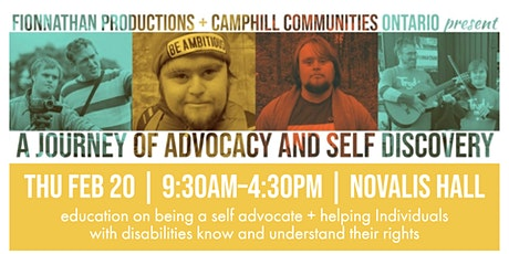 A Journey of Advocacy and Self Discovery tickets