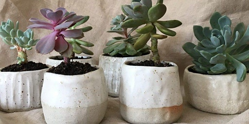 Libitina with Holly, Pottery Grief Support Group
