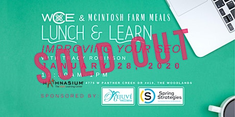 Women's Council of Entrepreneurs Lunch and Learn ~Improving your SEO tickets