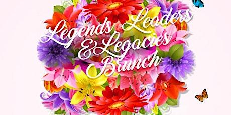 Legends, Leaders & Legacies Brunch tickets