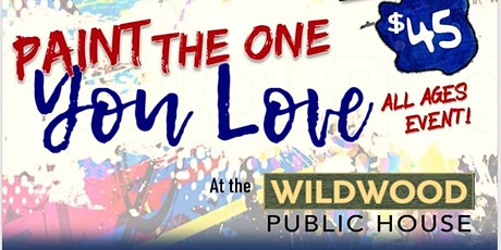 Paint the One you Love! tickets