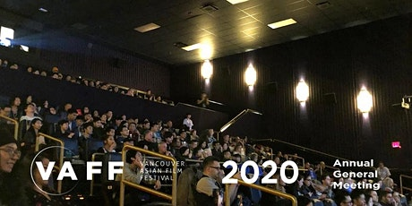 VAFF 2020 Annual General Meeting tickets