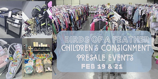 Birds of a Feather Children's Consignment Presale Events