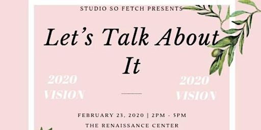 Let's Talk About It | 2020 Vision Board