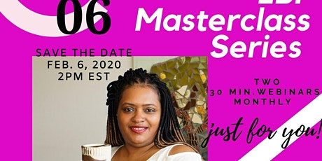 Everything By Faith Masterclass Series tickets