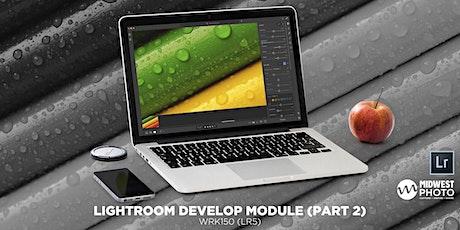 Lightroom Develop Module (Part 2)-WRK132 (LR5) tickets