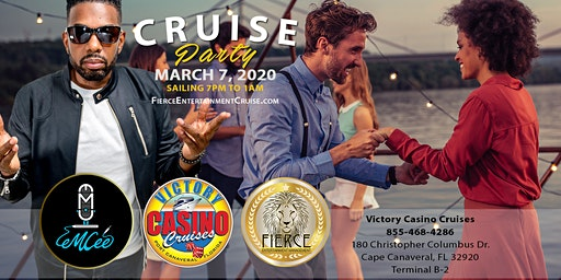 Fierce Entertainment Cruise Party, Live Entertainment, & Fashion Show