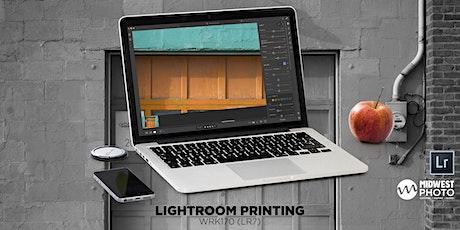 Lightroom Printing-WRK142 (LR7) tickets