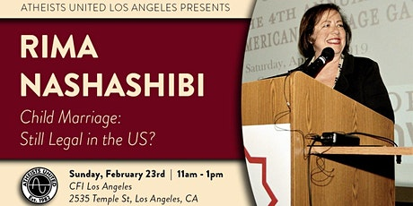 Child Marriage: Still Legal in the US? tickets
