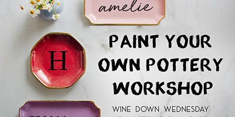 Paint Your Own Pottery Workshop at White Star Market tickets