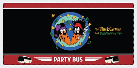 Shoreline Amphitheater Shuttle Bus: The Black Crowes tickets