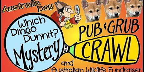 SUNDAY 1/26/20: Australia Day San Francisco Party -Mystery Pub & Grub Crawl tickets