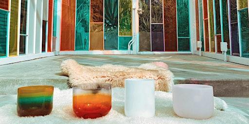 Full Moon Soundbath & Tea In A Rainbow Chapel