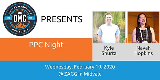 Utah DMC Presents: PPC Night - February 19th 2020