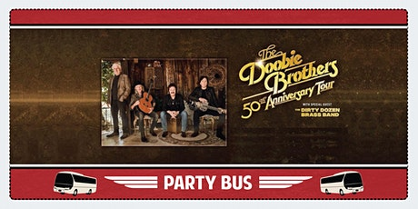 Shoreline Amphitheater Shuttle Bus: The Doobie Brothers tickets