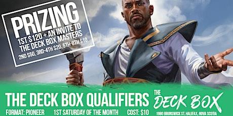 Deck Box Qualifier: Pioneer tickets