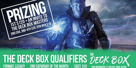 Deck Box Qualifier: Legacy tickets