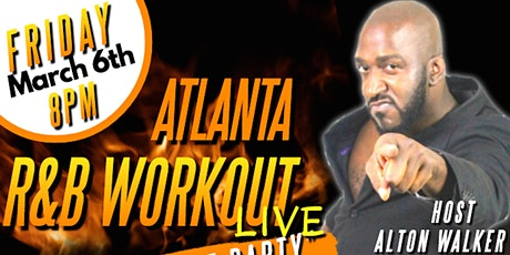 ATL R&B Workout LIVE with Alton Walker tickets