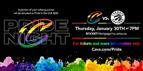 Cleveland Cavs Pride Night tickets