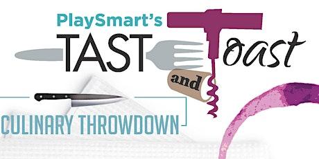 PlaySmart's Taste & Toast (April 23, 2020)  tickets