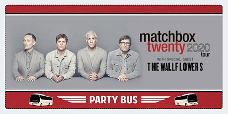 Matchbox Twenty Party Bus to Shoreline Amphitheater tickets