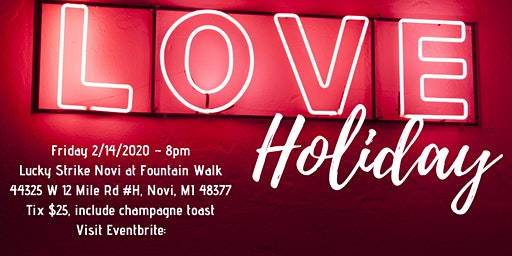 """Valentine's Day """"A Love's Holiday"""" a celebration of love through live jazz"""