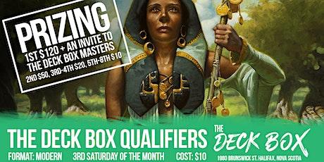 Deck Box Qualifier: Modern tickets