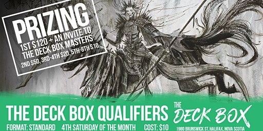 Deck Box Qualifier: Standard