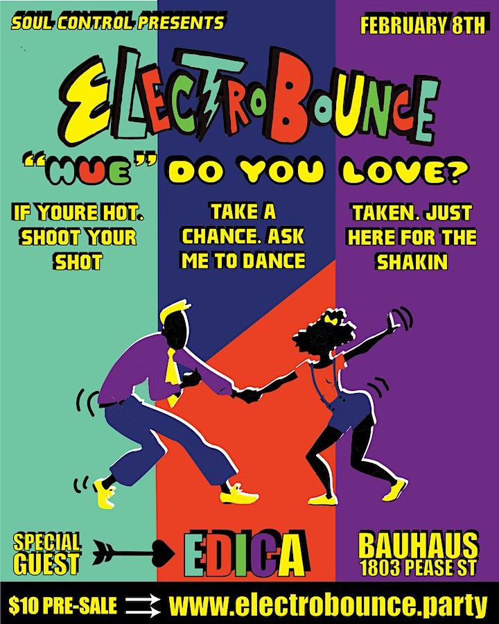 """ElectroBounce - """"Hue"""" Do You Love? ft. EDICA+ image"""