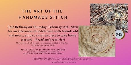 The Art of the Handmade Stitch tickets