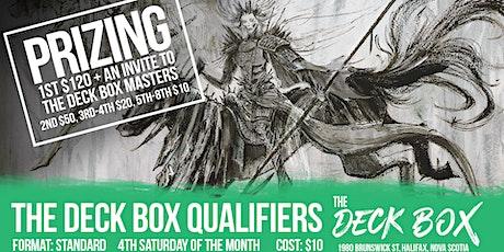 Deck Box Qualifier: Standard tickets