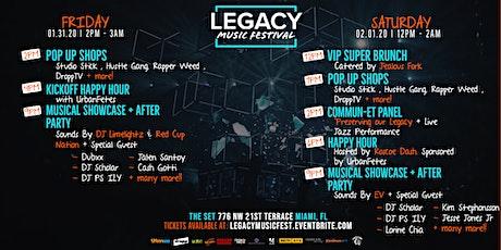 SUPER BOWL 54 LEGACY MUSIC FESTIVAL tickets