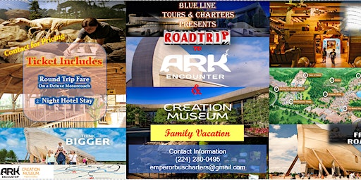 Road Trip & Vacation to Ark Encounter + Creation Museum