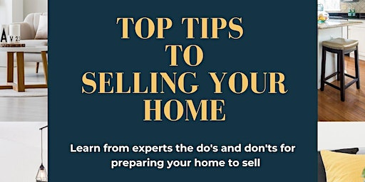 Top Tips to Selling Your Home