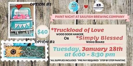 Paint Night at Sailfish tickets