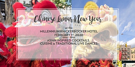 Chinese New Year at the Knickerbocker tickets