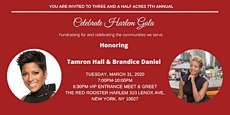 Three and a Half Acres 7th Annual Celebrate Harlem Gala tickets