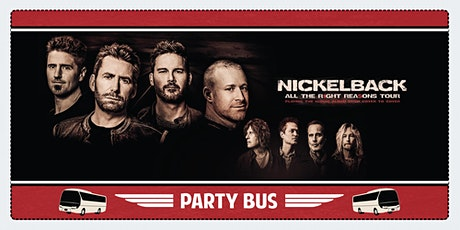 Nickelback Party Bus to Shoreline Amphitheater tickets